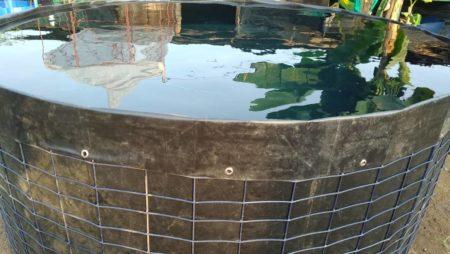 Nous livrons des bacs pour élevage des poissons et réservoirs d'eau